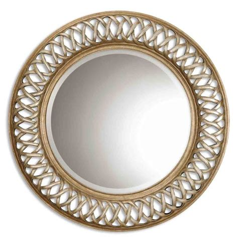 Uttermost 14028 B Entwined Antique Gold Mirror .